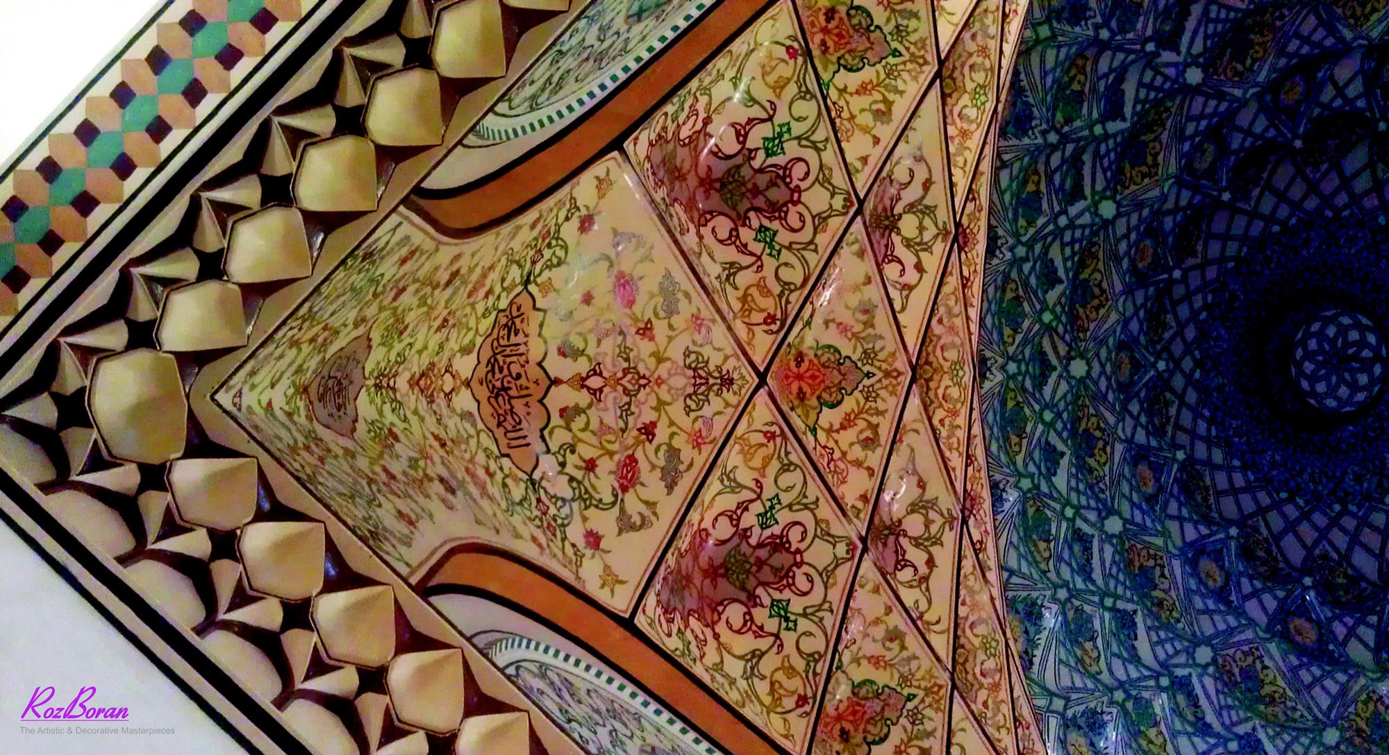 دکوراسیون سنتی رزبران و یزدی بندی
