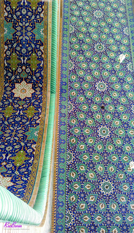 معماری سنتی و کاشیکاری معرق ایران