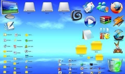 کامپیوتر: تغییر تصویر دسکتاپ با استفاده از کلید میان بر