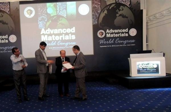 دکتر محمد هادی محمدی، دکترای رشته شیمی، کنگره بین المللی مواد پیشرفته