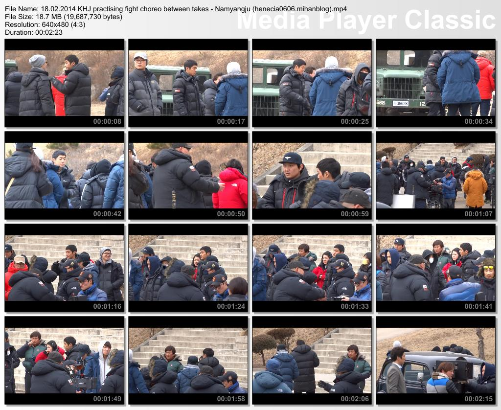 "[illu blue Fancam] Kim Hyun Joong ""Inspiring Generation"" Shooting in Namyangju [14.02.18]"