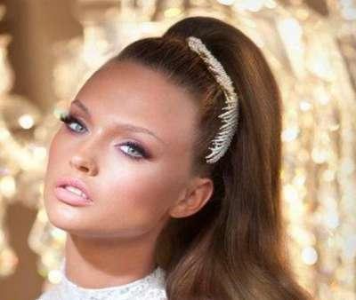 مدل جديد آرایش ملایم و سرد دخترانه
