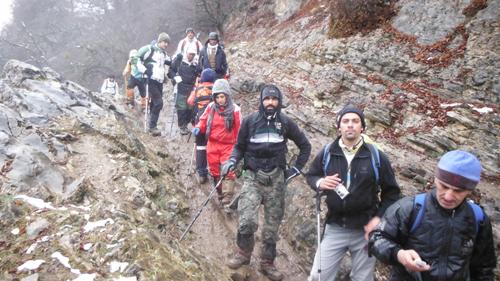 کوهپیمایی و جنگل نوردی از خشواش به رزکه 92.9.1