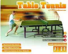 بازی انلاین تنیس روی میز گلریزوب