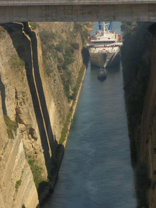 کانال کورنیس در یونان