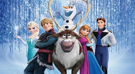 دانلود انیمیشن 2013 Frozen دوبله فارسی