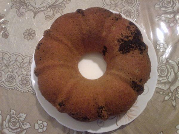کیک مرمری
