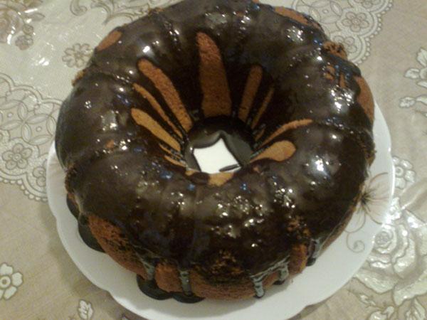 کیک مرمری2