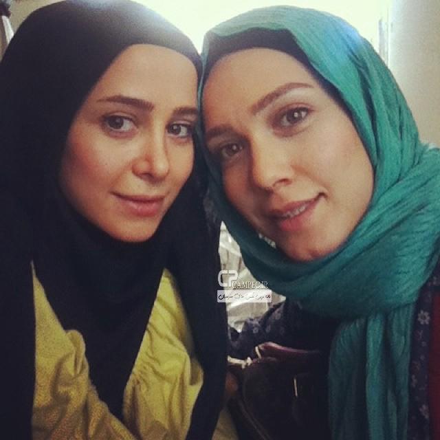 الناز حبیبی و شهرزاد کمال زاده
