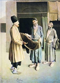 دوره گرد یهودی تابلوی منتسب به کمال الملک جعلی