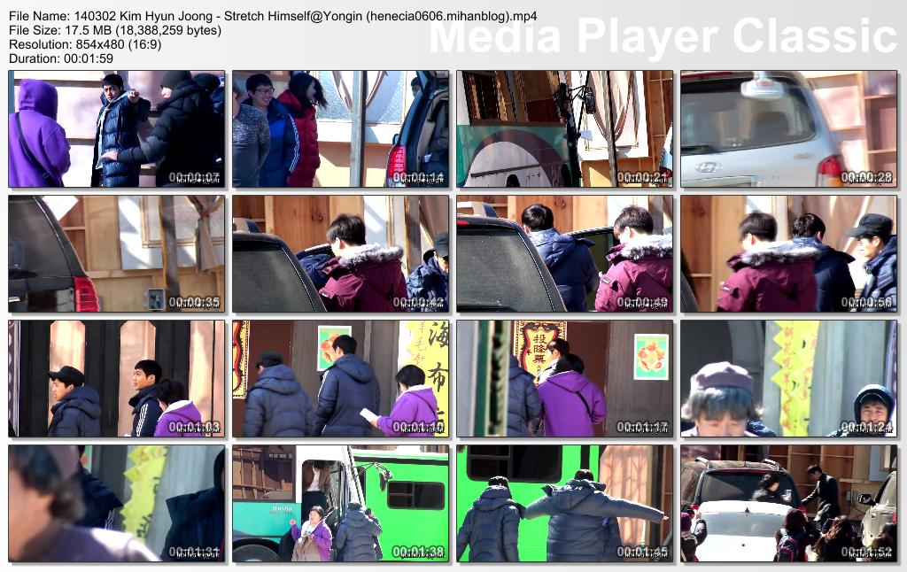 [HollisHyun Fancam] Kim Hyun Joong - Inspiring Generation Shooting in Yongin Film Set [14.03.02]
