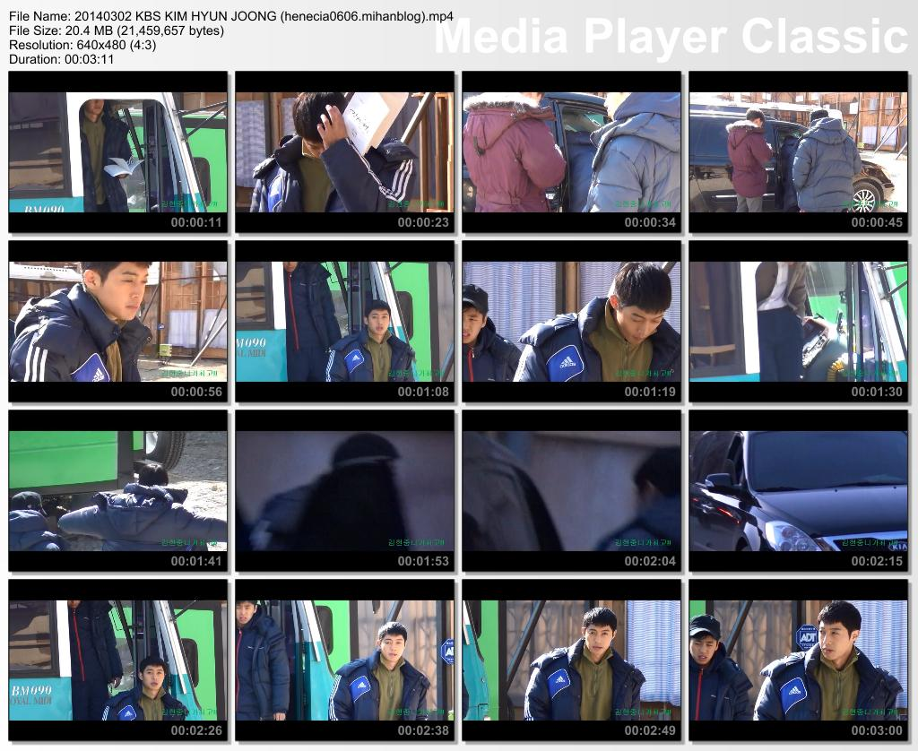 [Fancam] Kim Hyun Joong - Inspiring Generation Shooting in Yongin Film Set [14.03.02]