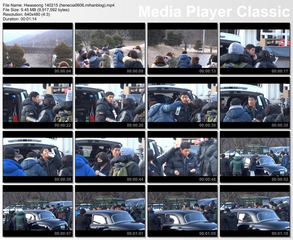 [illu blue Fancam] Kim Hyun Joong - Inspiring Generation Shooting in Hwaseong [14.02.15]