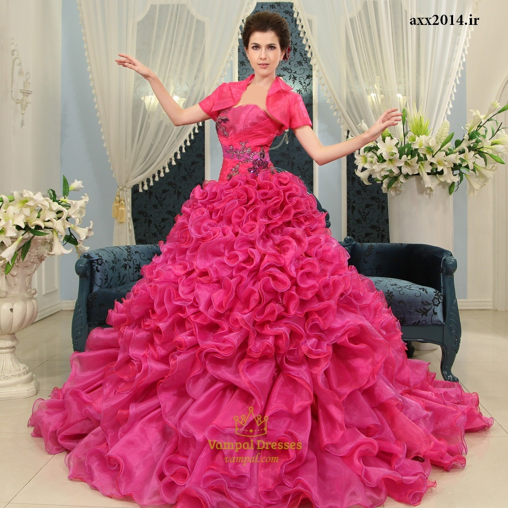 مدل های زیبای لباس نامزدی2014