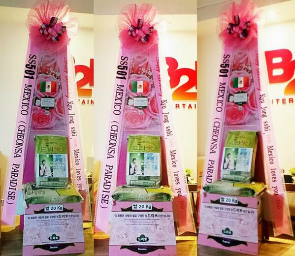 Bh7Z9uvIcAAyxoL Kim Kyu Jongs Mexican Fans send dream rice wreaths