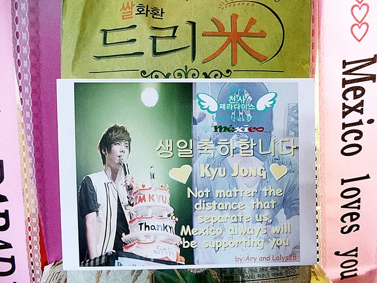 2448094E53158B173651F9 Kim Kyu Jongs Mexican Fans send dream rice wreaths