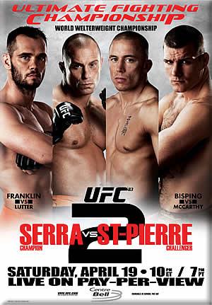 دانلود یو اف سی 83 | UFC 83: Serra vs. St. Pierr