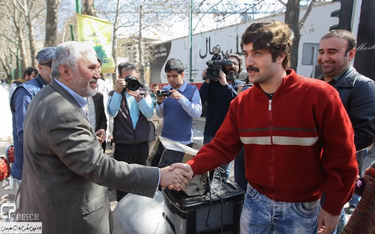 عکس های پشت صحنه سریال پایتخت3