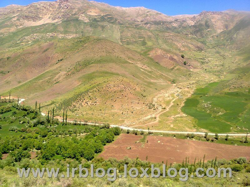 روستای بهرام اباد در فریدونشهر_اصفهان