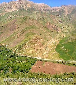 روستای بهرام اباد در فریدونشهر _اصفهان