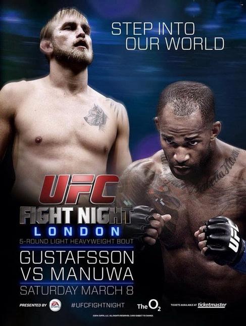 دانــلود یو اف سی فایت نایت 37 | UFC Fight Night 37:Gustafsson vs. Manuwa