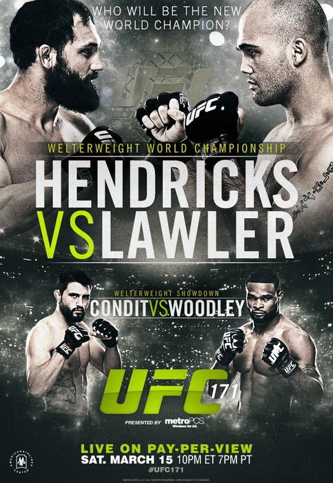 دانلود یو اف سی 171 | UFC 171 : Hendricks vs. Lawler