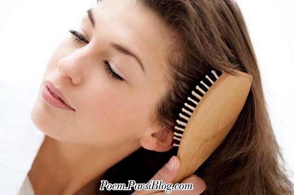 خوشبخت آنکه موی تو را شانه می کند  اصلا کسی که موی تو را ... پیر می شود ؟!