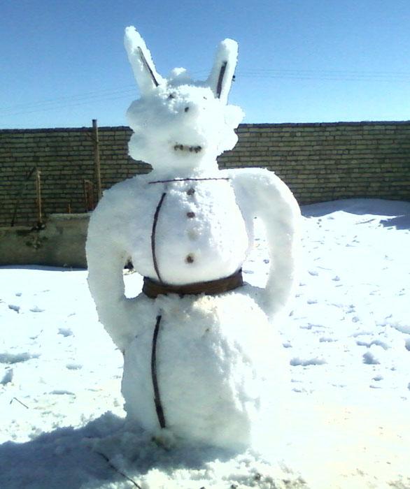 ادم برفی من
