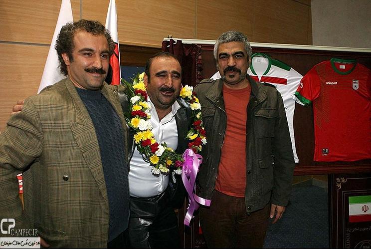 عکس های جالب از پشت صحنه سریال «پایتخت3» در اردوی تیم ملی