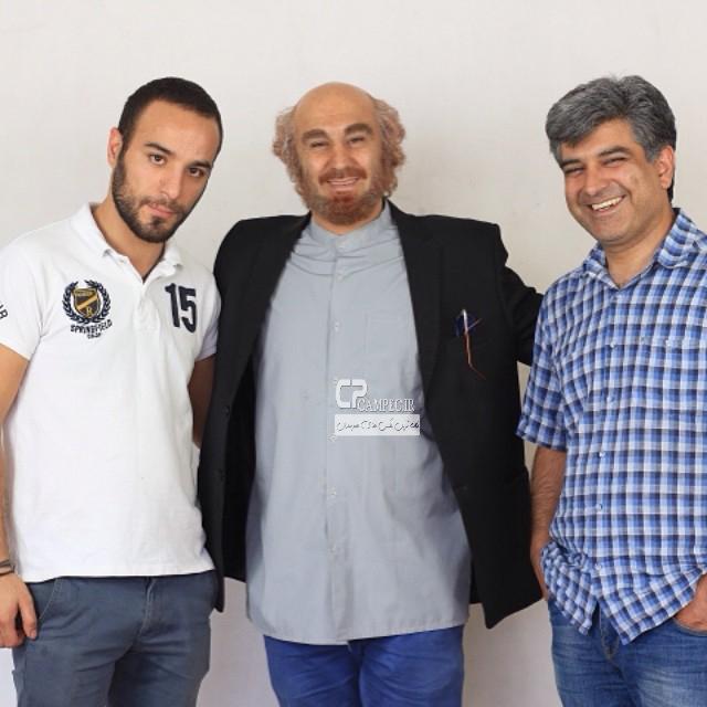 www Campec Ir Mohsen Tanabandeh 2 محسن تنابنده در سریال شاهگوش