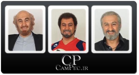 عکس های جدید محسن تنابنده با گریم های متفاوت در سریال شاهگوش