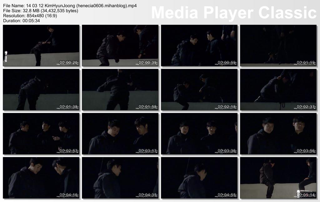 [HyunJoong Baraba Fancam] Kim Hyun Joong Inspiring Generation Shooting in Iksan for episode 17 aired on 2014.03.12