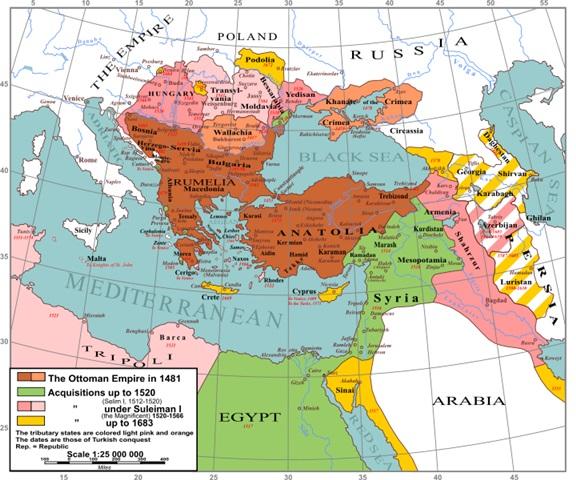 امپراطوری عثمانی و صفویه
