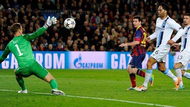 بارسلونا ۲-۱ منچستر سیتی؛ وداع دومین تیم انگلیسی
