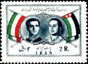 تمبر های قدیمی پهلوی