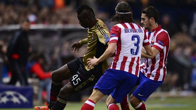 اتلتیکو مادرید ۴-۱ آث میلان؛ حذف میلان از لیگ قهرمانان اروپا