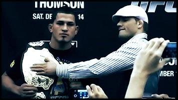 03.12.2014 : آنتونی پِتیس و جاش تامسون | آنتونیو سیلوا و TRT | هندریکس در کلاس Middleweight