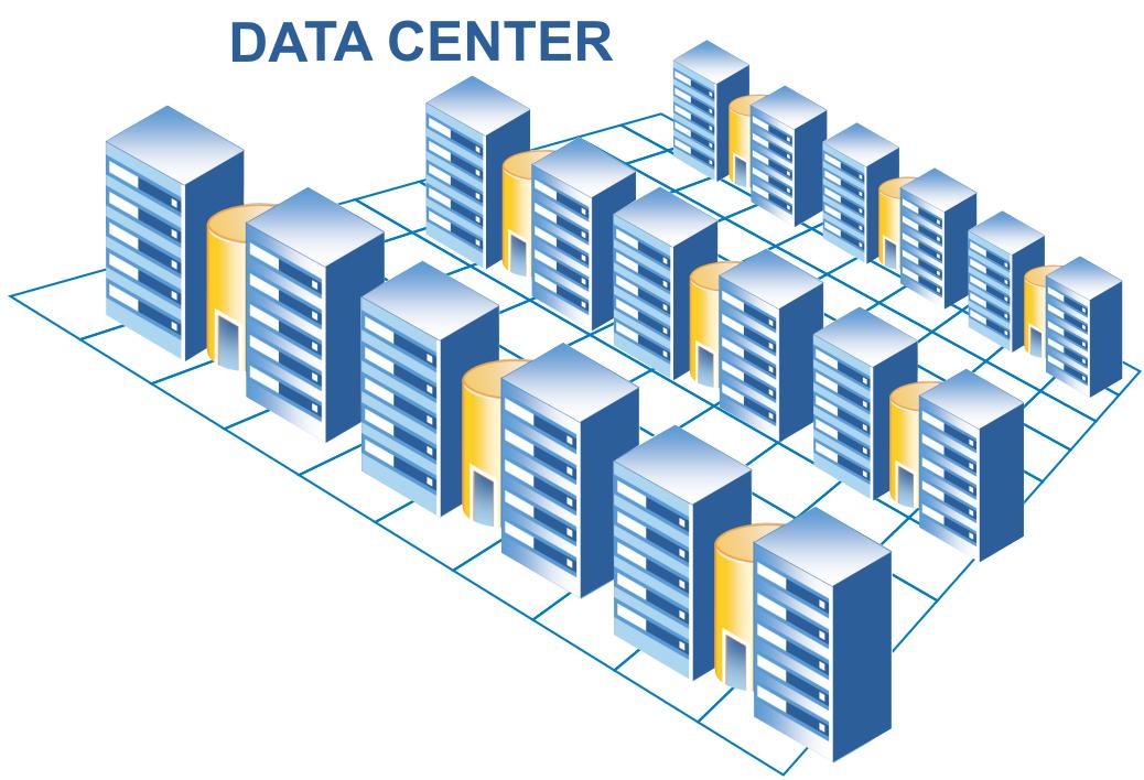 پروژه مرکز داده کامپیوتر گرایش نرم افزار