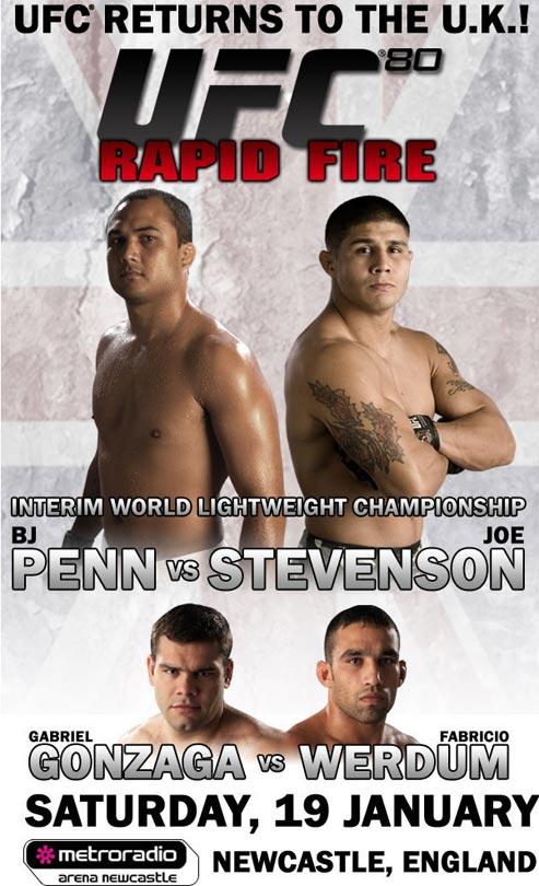 دانلود یو اف سی 80 | UFC 80: Penn vs. Stevenson