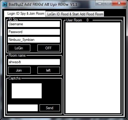 Badbuzz Add Flood All User Room V.1.1 12323456789