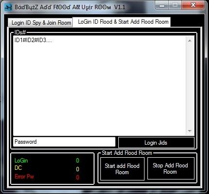 Badbuzz Add Flood All User Room V.1.1 987412563