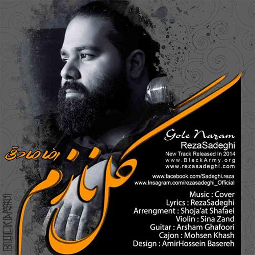 reza Sadeghi Gole Nazam دانلود آهنگ جدید رضا صادقی به نام گل نازم