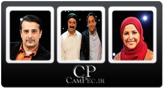 عکسهای بازیگران در پشت صحنه برنامه نوروزی رادیو هفت