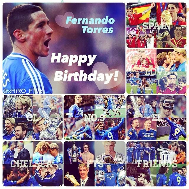تولد 30 سالگی فرناندو تورس مبارک