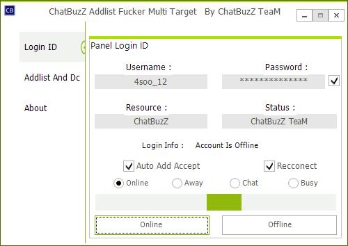 Chatbuzz Addlist Fucker Multi Target Dryhrh