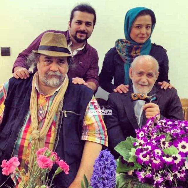 مهراوه شریفی نیا و پدرش محمد رضا