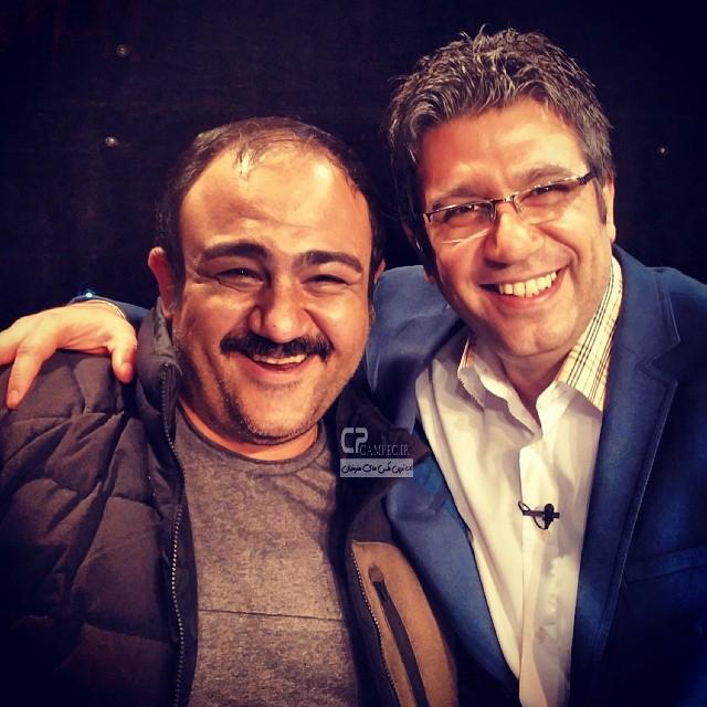 رضا رشید پور و مهران غفوریان
