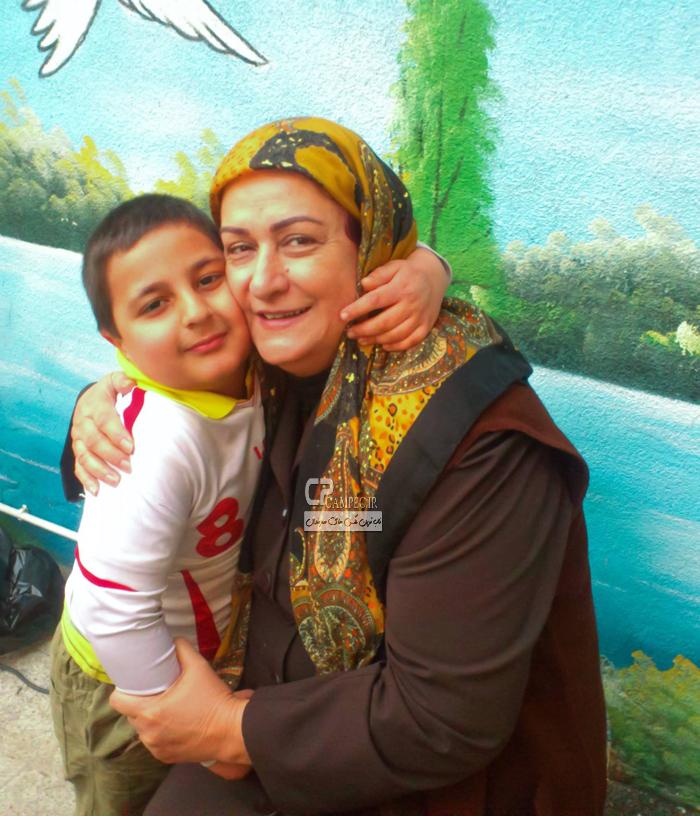 مریم امیر جلالی و محمد رضا شیر خانلو