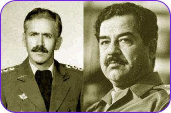 صدام و تیمسار آبشناسان
