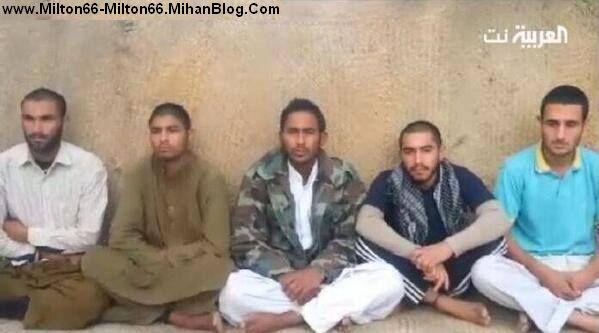 جیش العدل ، 5 سرباز اسیر